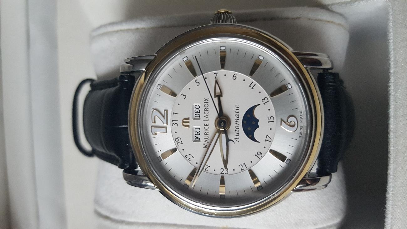... Аксесуари Київ · Наручні годинники Київ. Швейцарские часы Maurice  Lacroix MP6743 757061c155e54