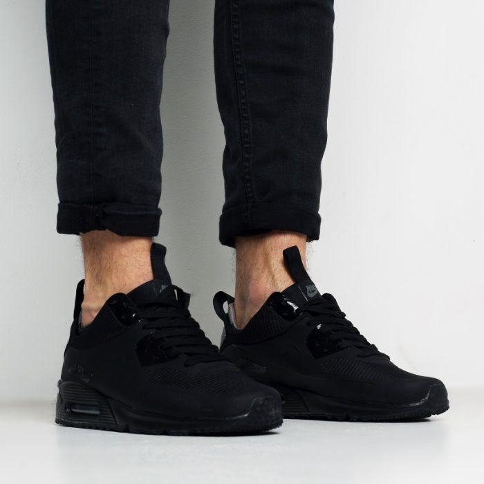 Зимові кроссовки Nike Air Max 90 Mid Winter Термо до -15   Найк Аир ... 767365617875b