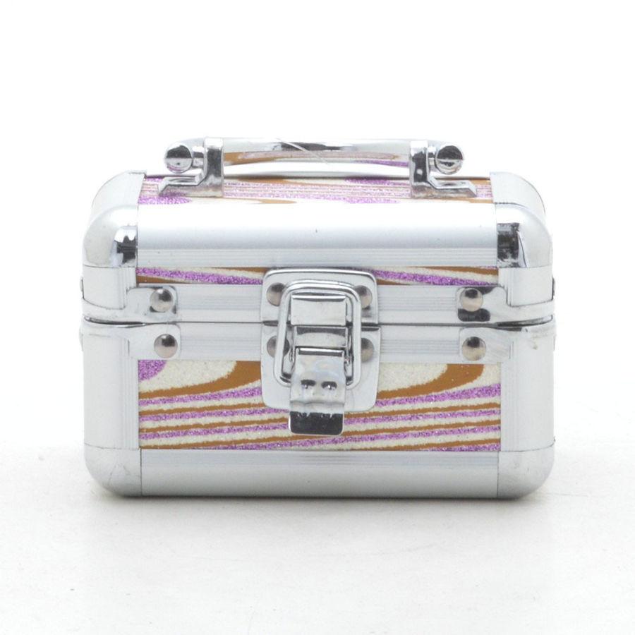 Шкатулка-бьюти-кейс, сундук  для украшений розовая
