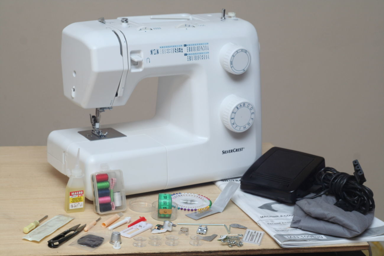 silvercrest швейная машинка