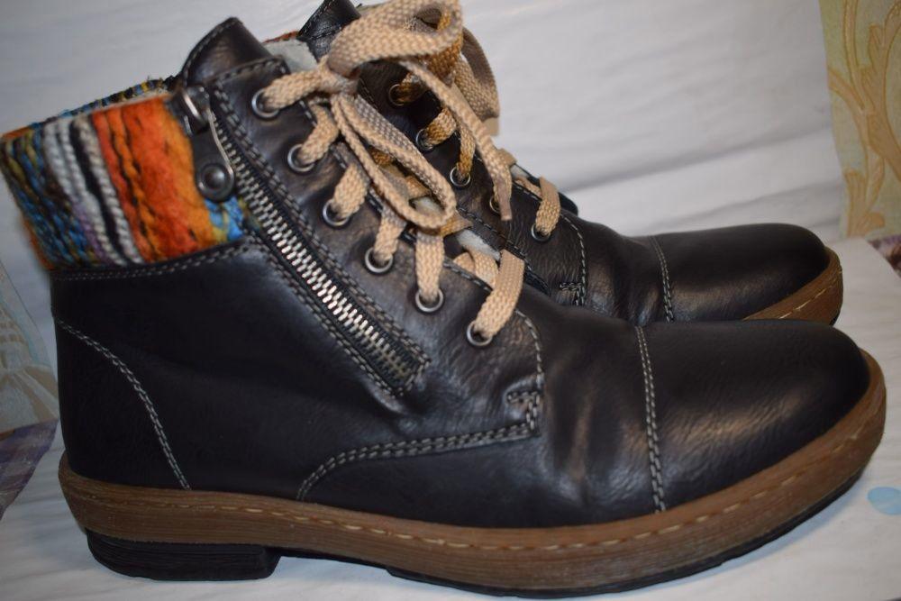 11194a73 Зимние ботинки р.38/39 Rohde TEX Германия мембранные р.5 1|2 24.5 см ...