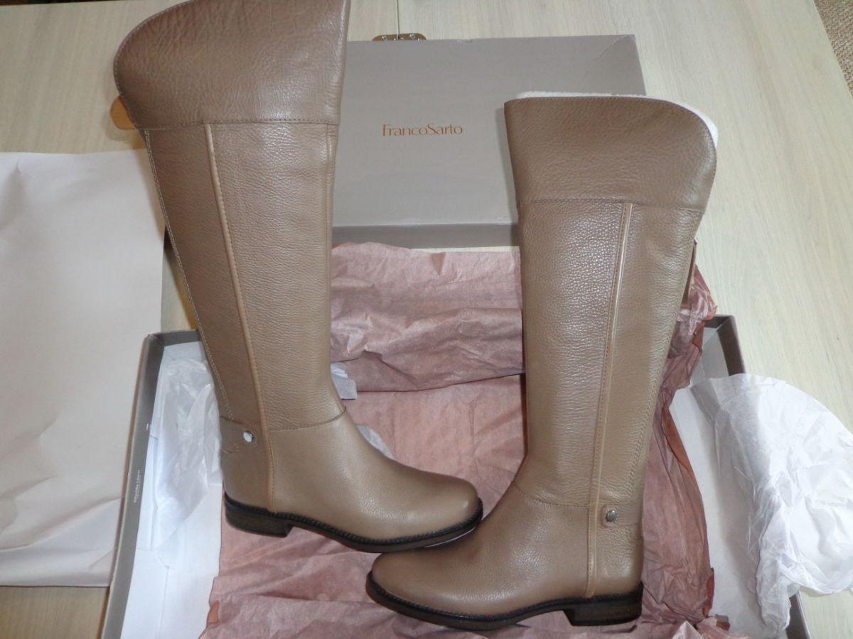 62710cf2c Новые женские кожаные сапоги демисезонные Franco Sarto Christine eur36