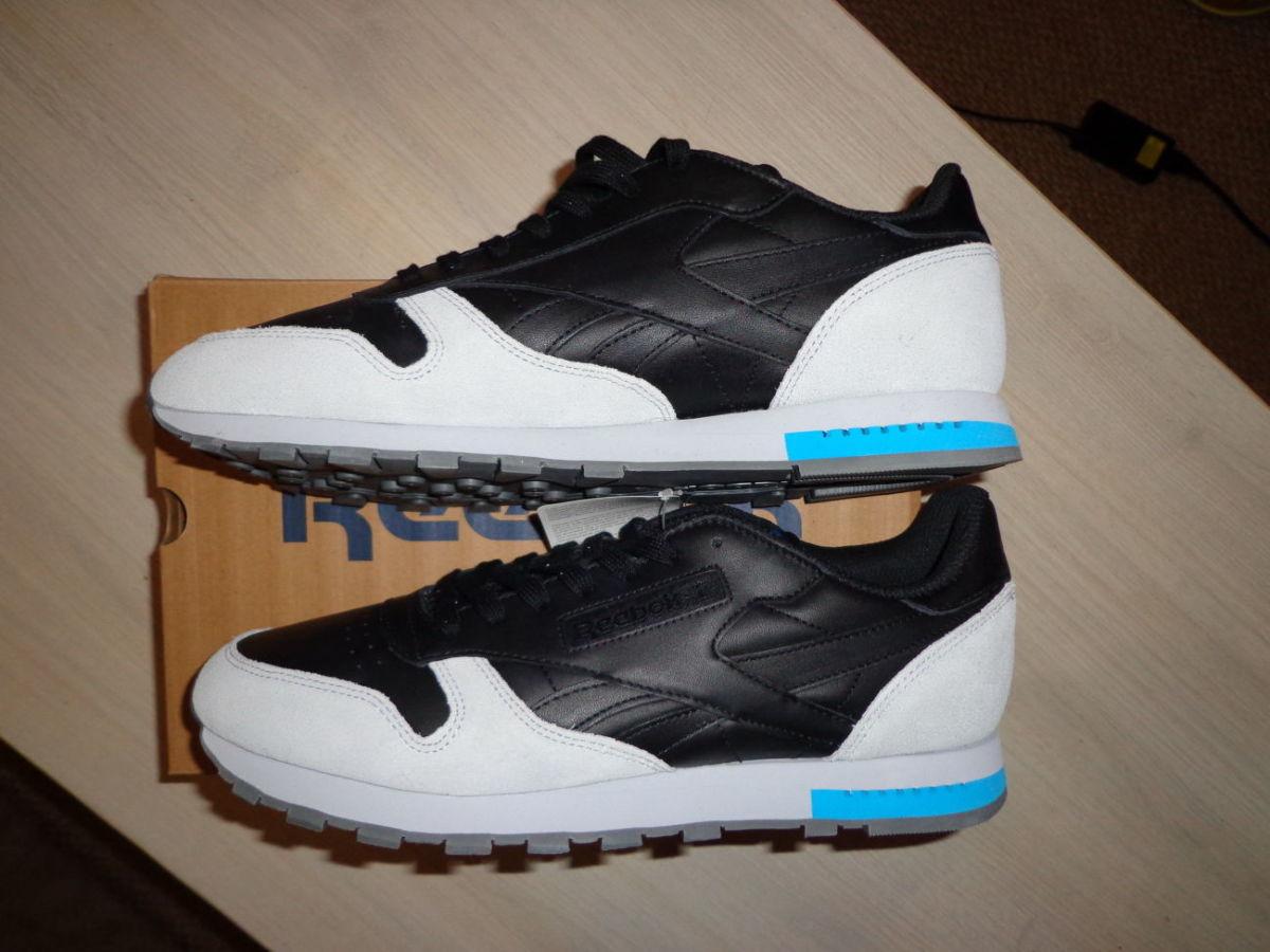 386b1a0ca Новые мужские кожаные кроссовки Reebok Classic CL Leather US 11: 2 ...