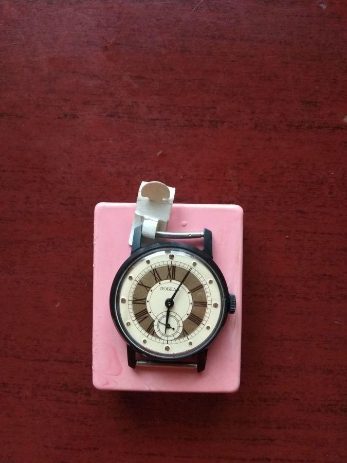 Часы механические Победа, не бывшие в употреблении, рабочие