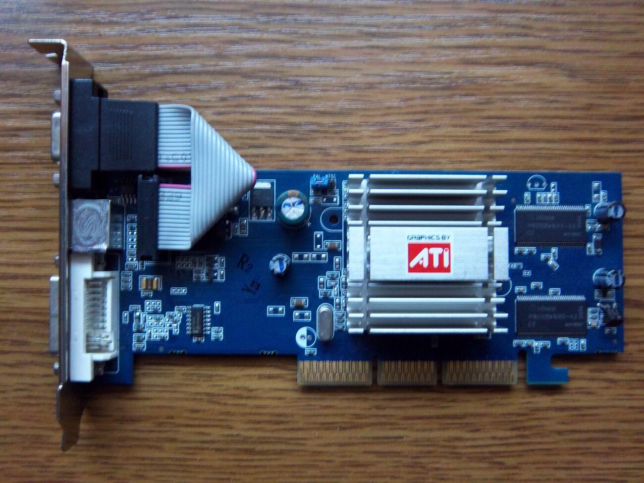 Відеокарта ATI Radeon 9250 128Mb AGP