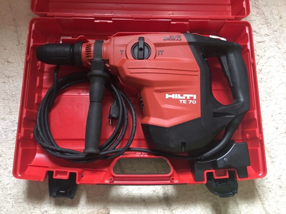 Te 70 avr hilti wall mounted bath filler with shower