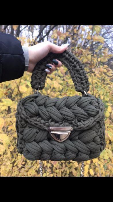 сумки зефирки сумки из трикотажной пряжи вязаные сумкисумки