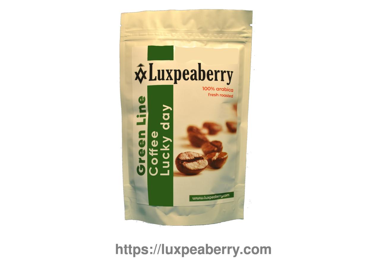 Кофе Luxpeaberry «Lacky day» 100% арабика, свежая обжарка