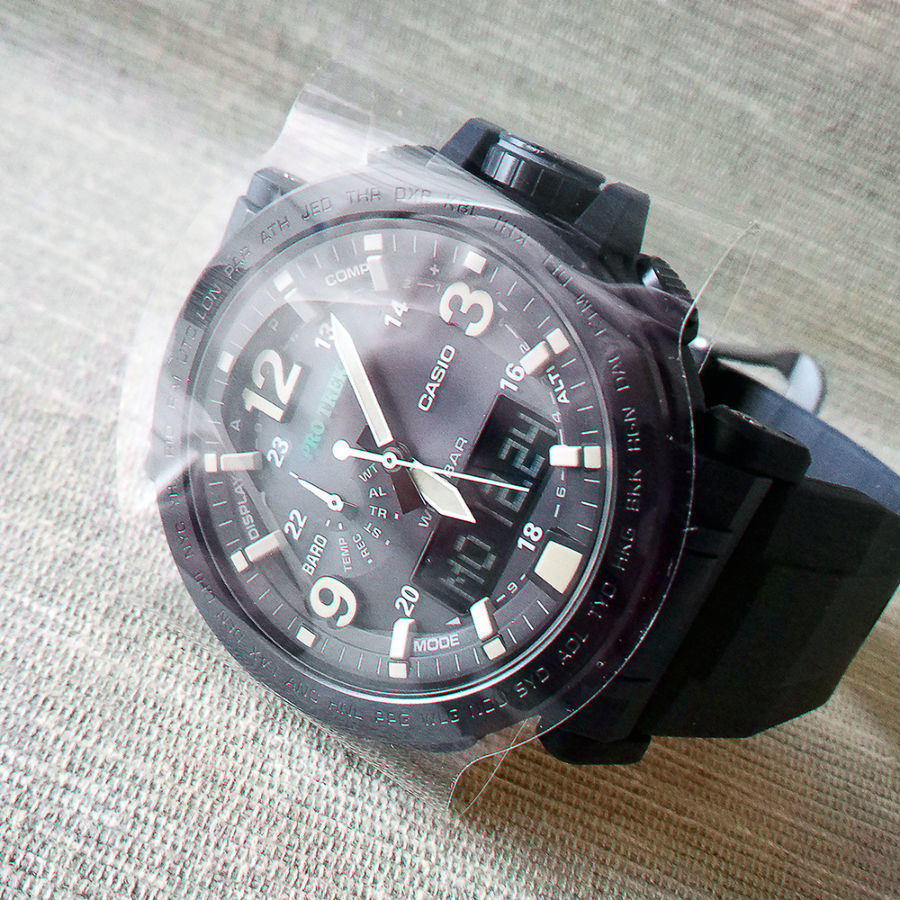 Часы Casio PRO TREK PRG-600Y-1CR новые ff0fb95ad301e
