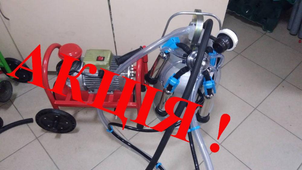 Доїльний апарат сухого типу Бурьонка