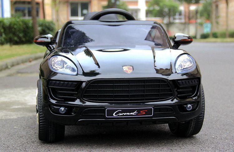 Детский электромобиль Porsche Macan style black