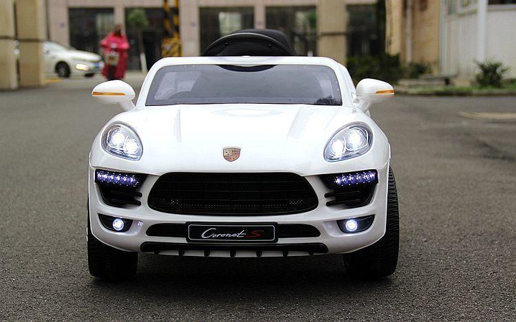 Детский электромобиль Porsche Macan style white