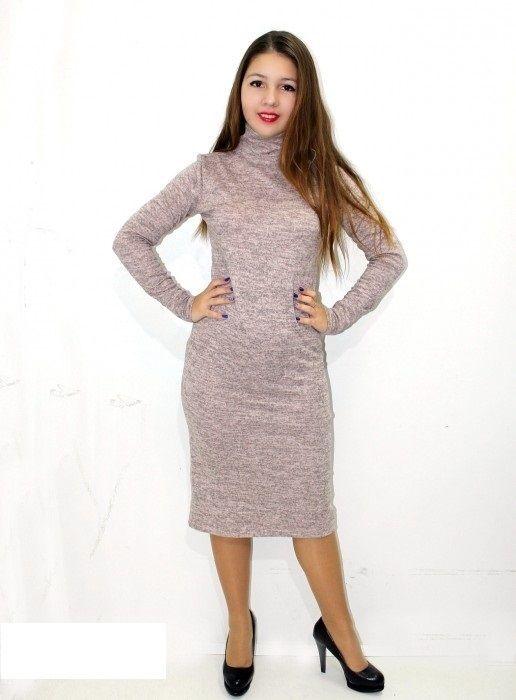 платье осень-зима