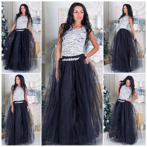 9cb7864a39f Фатиновая юбка в пол длинная макси ассортимент  420 грн. - Юбки ...