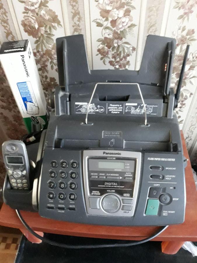 Телефон-факс Panasonic Kx-fc195