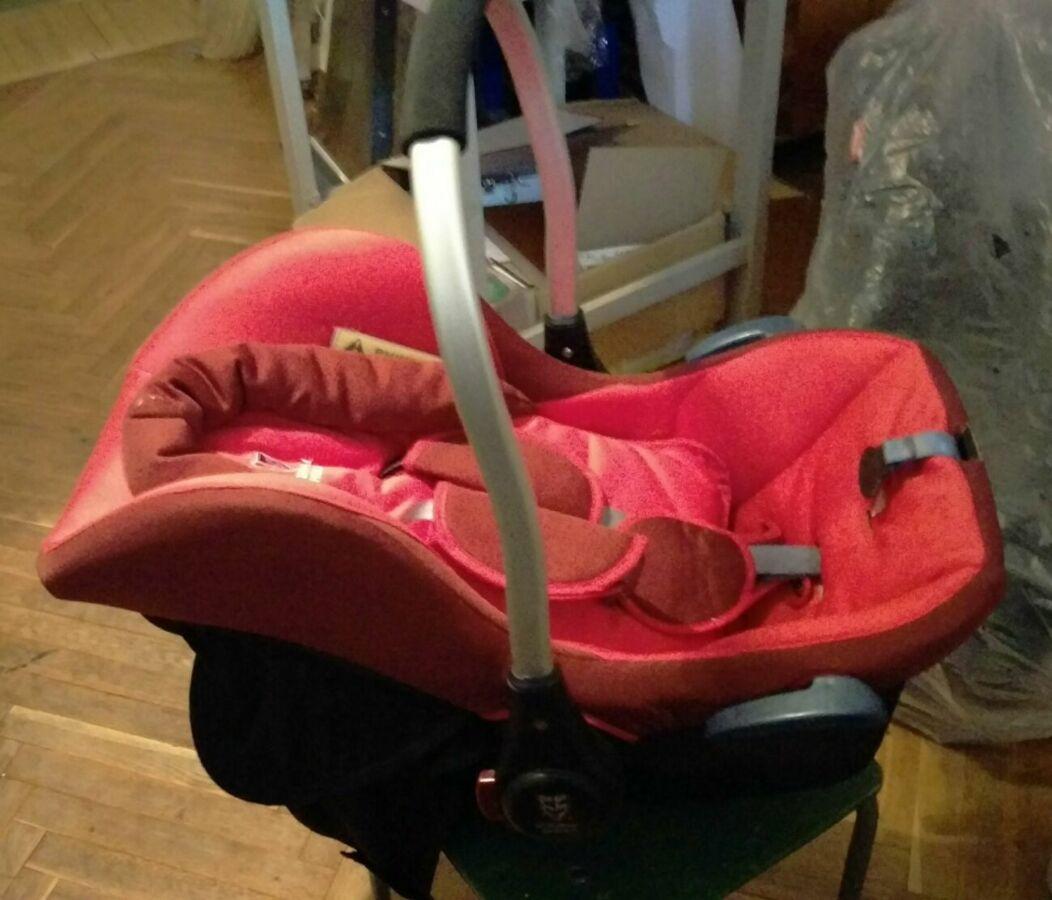 Безопасное автокресло-люлька-переноска д/Вашего малыша Eternal Shield