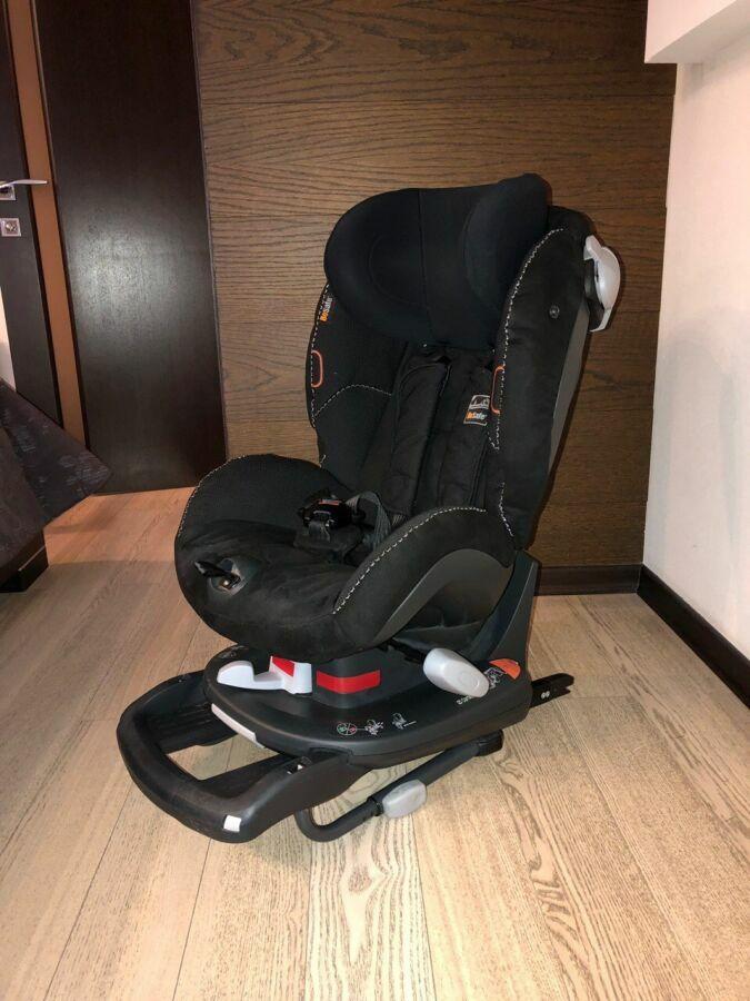 Детское автокресло BeSafe Izi Comfort X3 Isofix Black