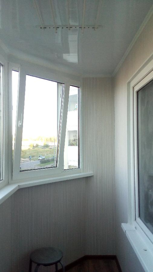 Балконы/окна/двери / металопластиковые