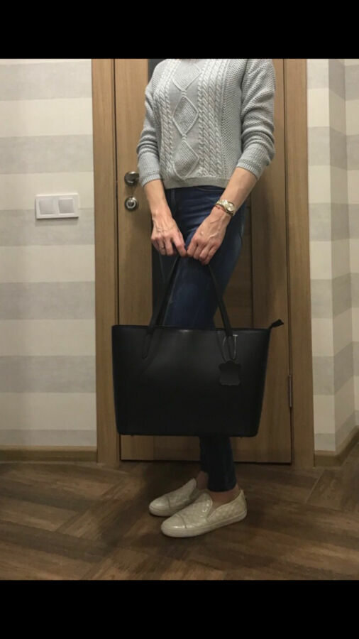 Классическая чёрная сумочка, натуральная кожа, Италия, качество