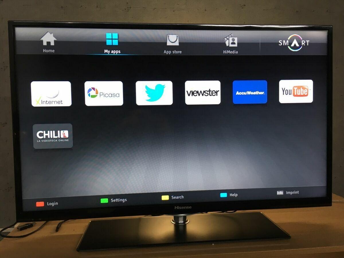 "Hisense 40"" Smart TV Wi-Fi"