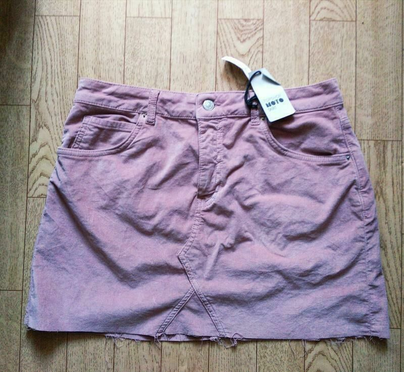 63713a3bbb2b Трендовая юбка под замш красивого цвета Topshop