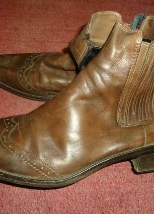 ботинки кожа р40