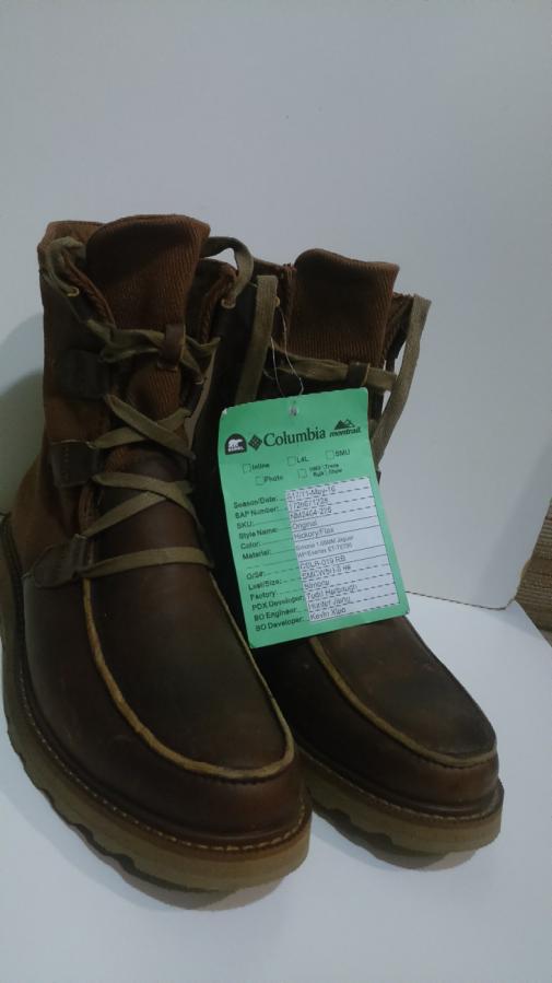 Sorel оригинал из США. Кожаные ботинки.
