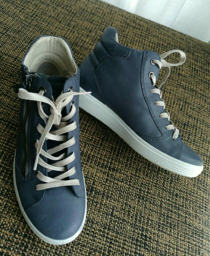 5d274f886e923b Кожаные кроссовки ботинки экко Ecco 37 размер 24 см: 1 500 грн ...