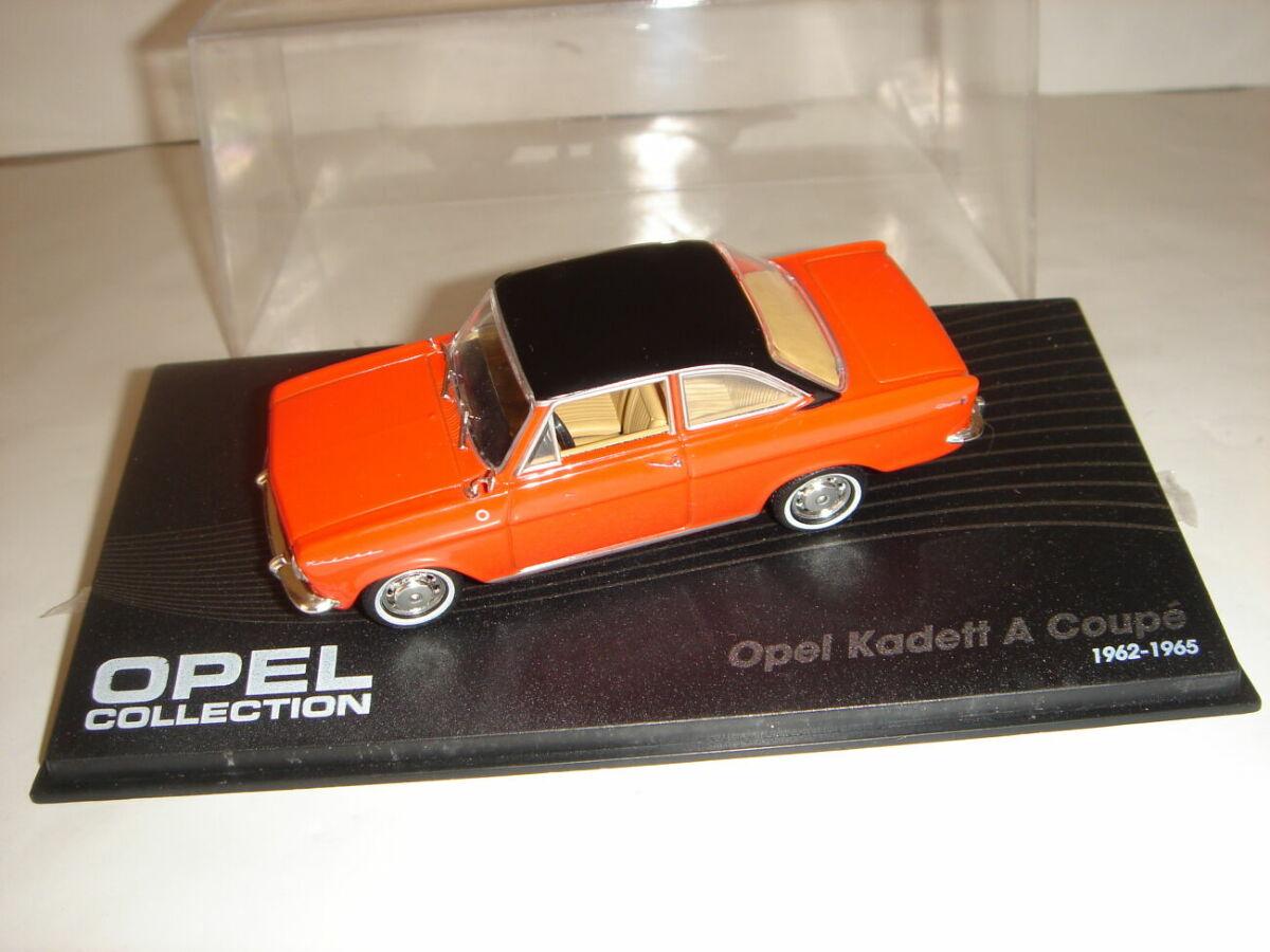 Машинка металлическая Opel Kadett A Coupe. 1:43 1962 – 1965