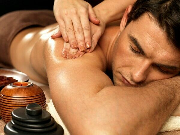 массаж с продолжением
