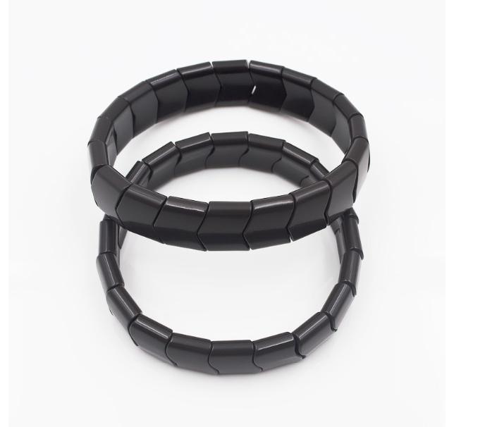 Турмалиновый(турманиевый) инфракрасный браслет корейский турмалин