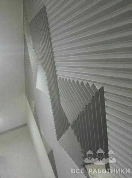 3д панели монтаж панно на стену