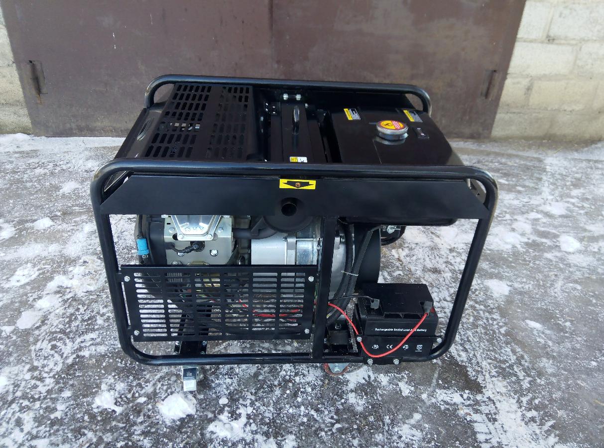 Бензиновий електрогенератор новий  40 000 грн. - Електростанції ... f70848214178f