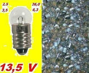 Лампочки  2,5 3,5 4,8 6,3 13,5 26,0 V лампы  пр-ва СССР