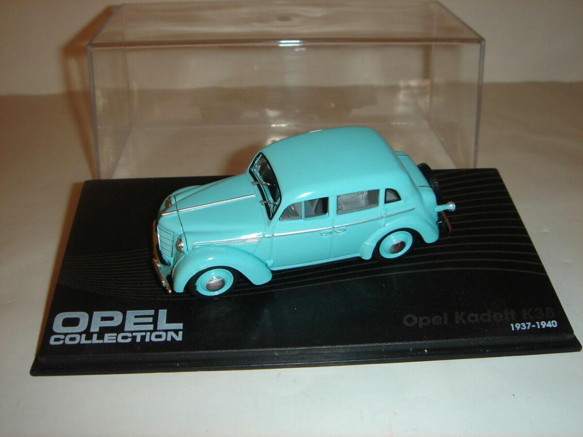 Машинка металлическая Opel Kadett К38. 1:43.1937 – 1940.