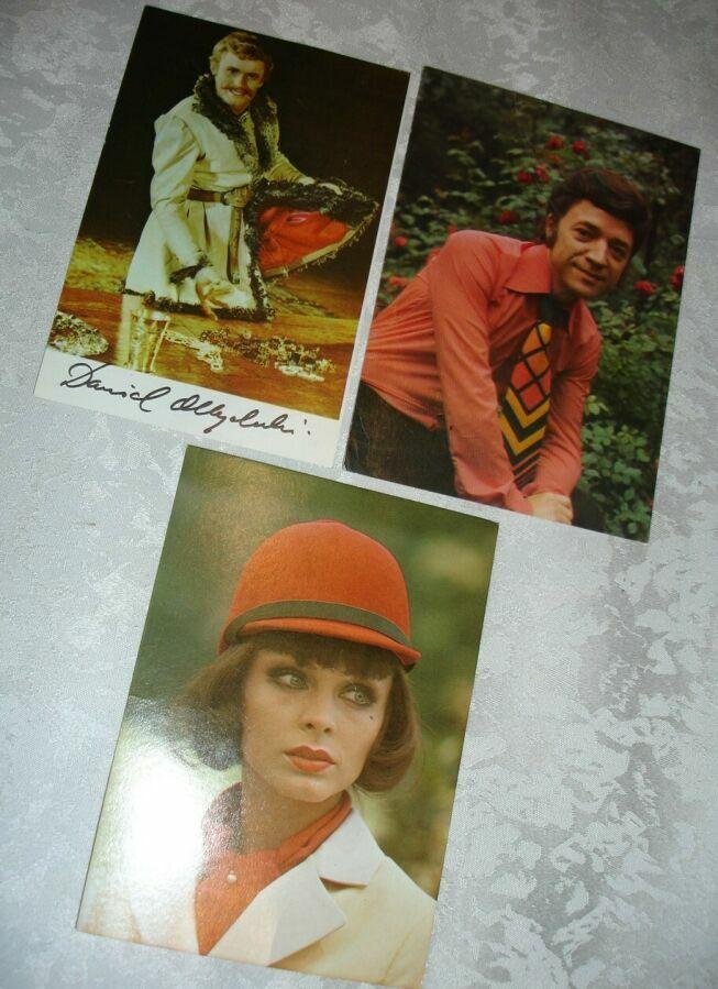 Открытка/листівка: польські актори і співаки у фільмах 1970-80-х років