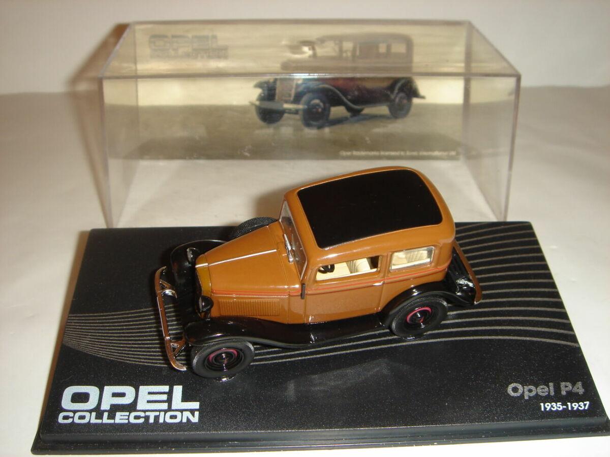 Машинка металлическая Opel Р4. 1:43 1935 – 1937.