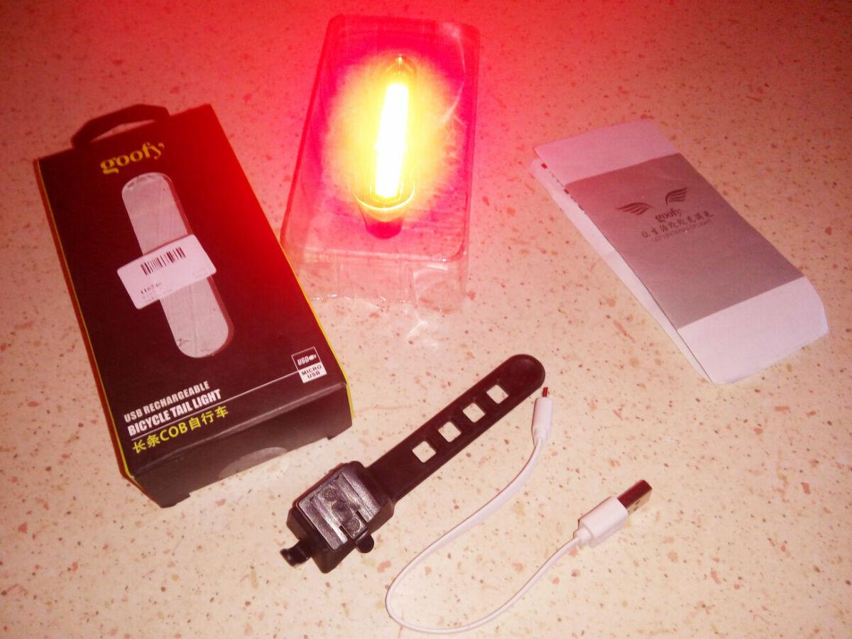Супер яркий задний фонарь для велосипеда Goofy X7505