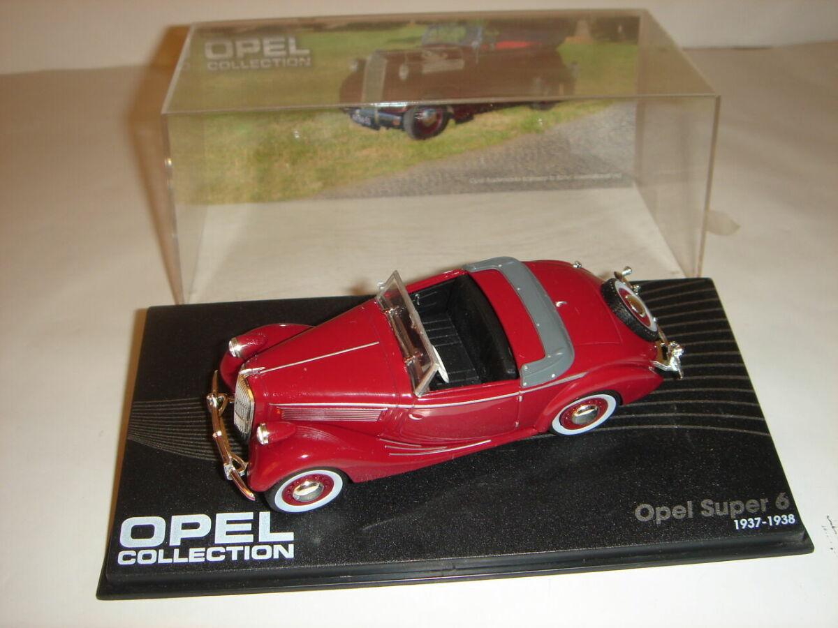 Машинка металлическая Opel Super 6. 1:43 1937 – 1938.