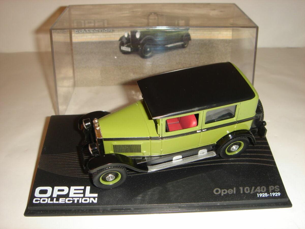Машинка металлическая Opel 10/40 PS. 1:43 1925 – 1929.