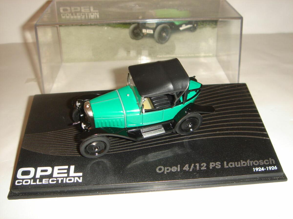 Машинка металлическая Opel 4/12 PS. 1:43 1925 – 1929.