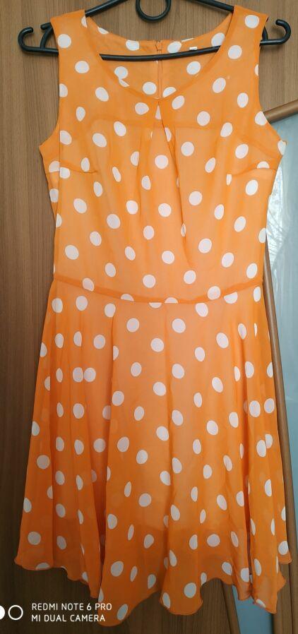 269941c68d2 Платье легкое шифоновое в горошек  200 грн. - Платья