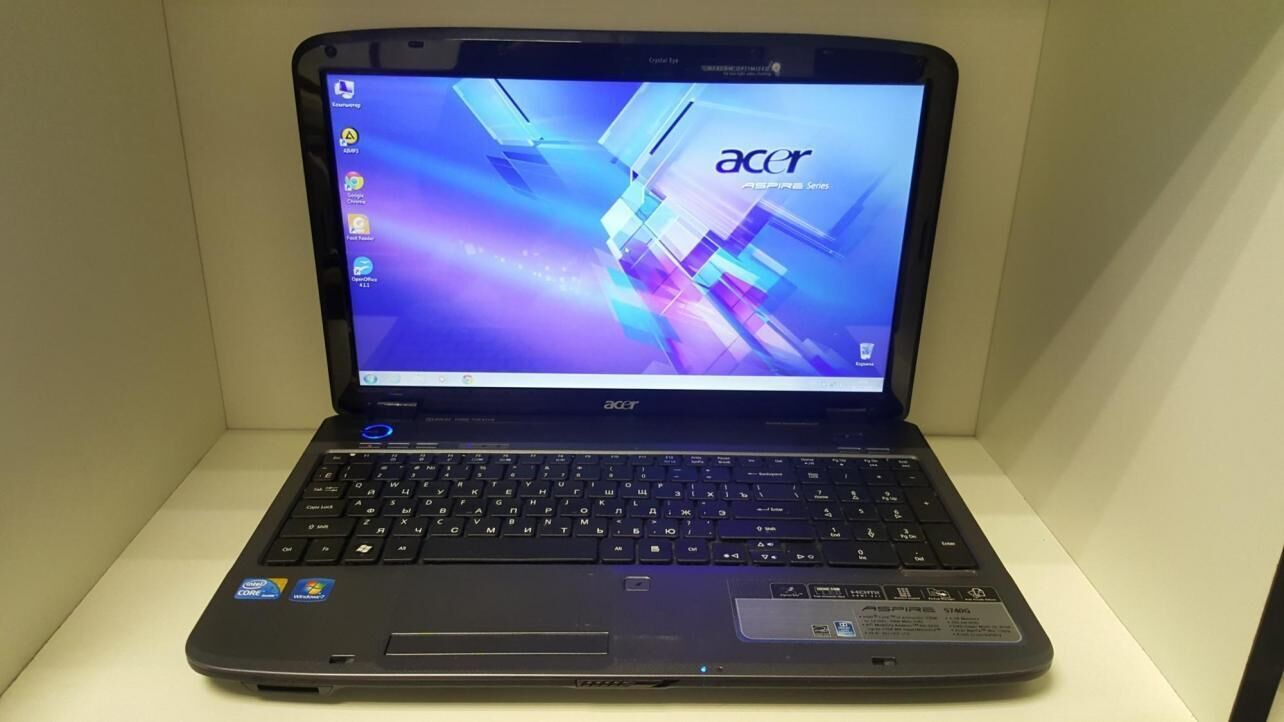 Продам игровой красивый ноутбук Acer Aspire 5740g