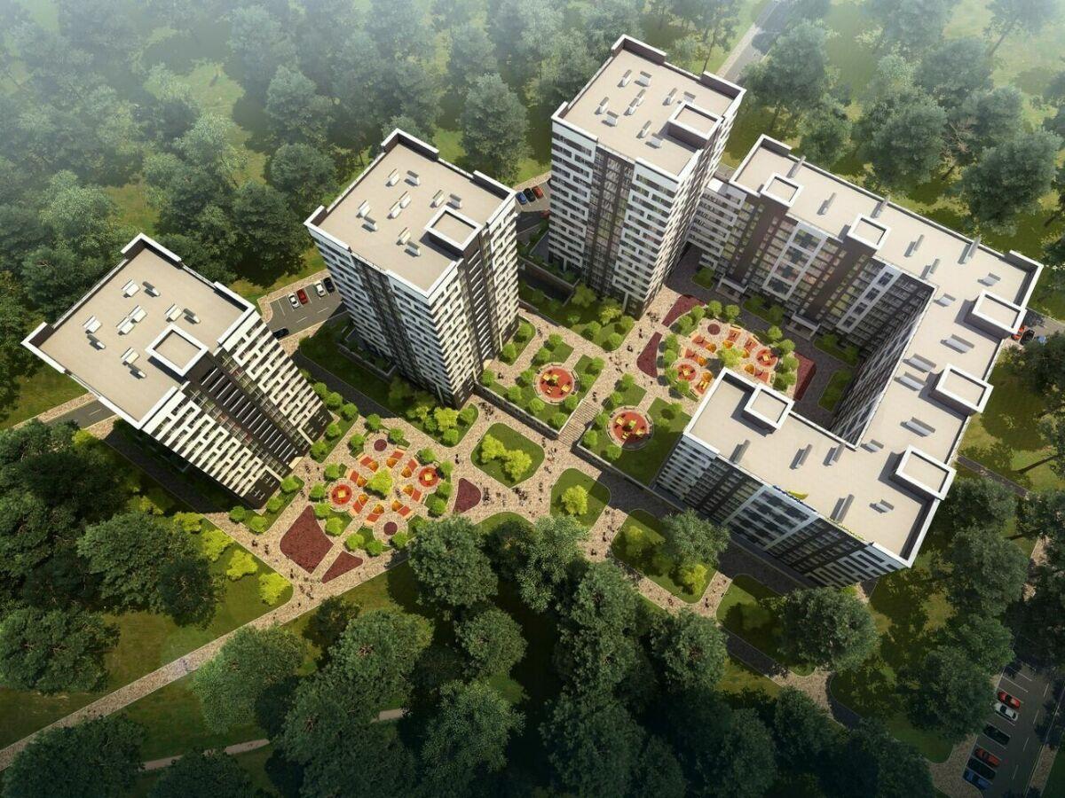 Квартира 35 м2 в ЖК «Чехов парк».