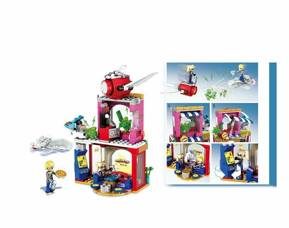 Конструктор JVToy Помощь Харли Квин 233 детали аналог Lego лего, Новый