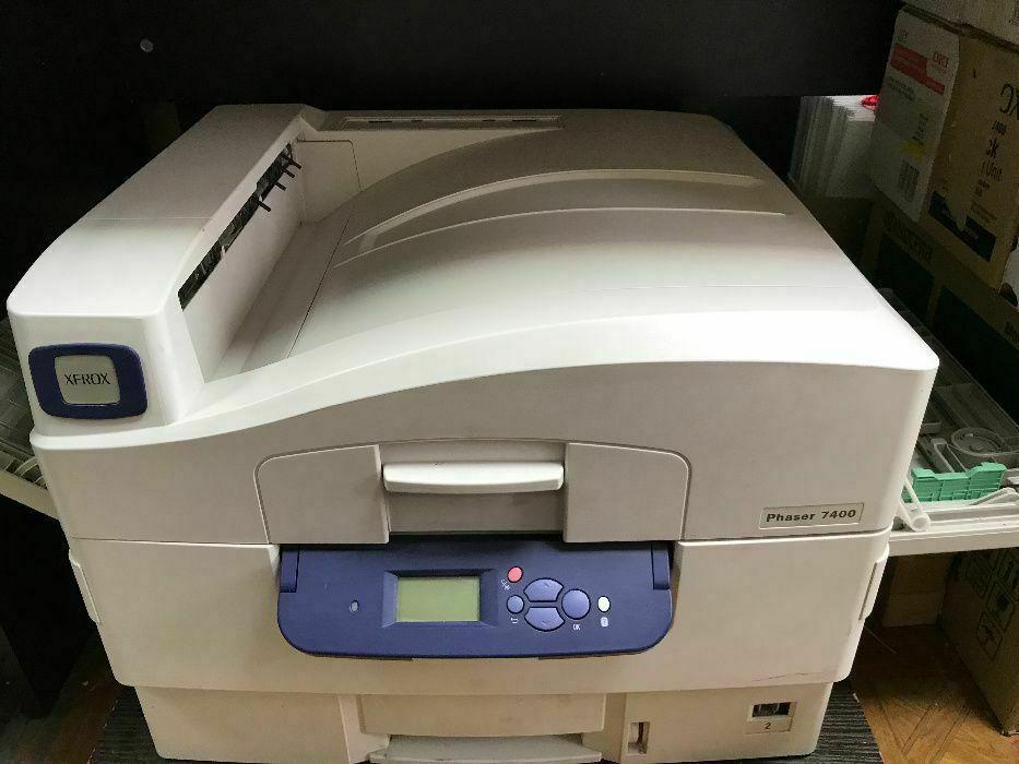Цветной лазерный Принтер А3 А4 ксерокс Xerox 7400 кольоровий лазерний