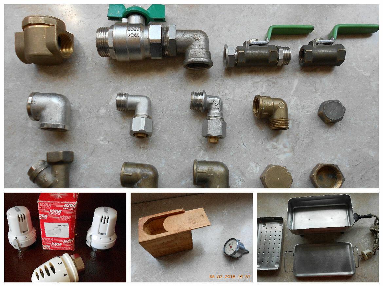 Газовый фильтр , краны , муфты ,уголки , заглушки ,
