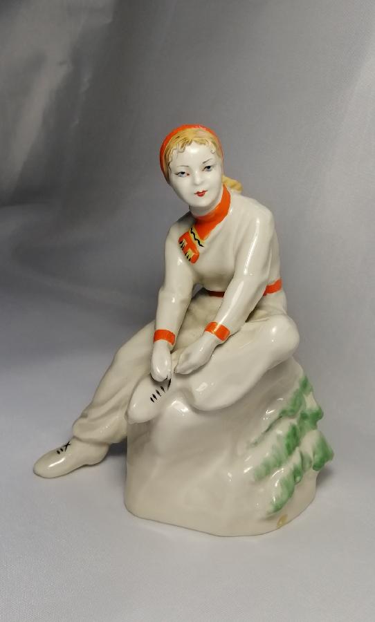 Продам фарфоровую статуэтку #времен СССР #антиквариат #