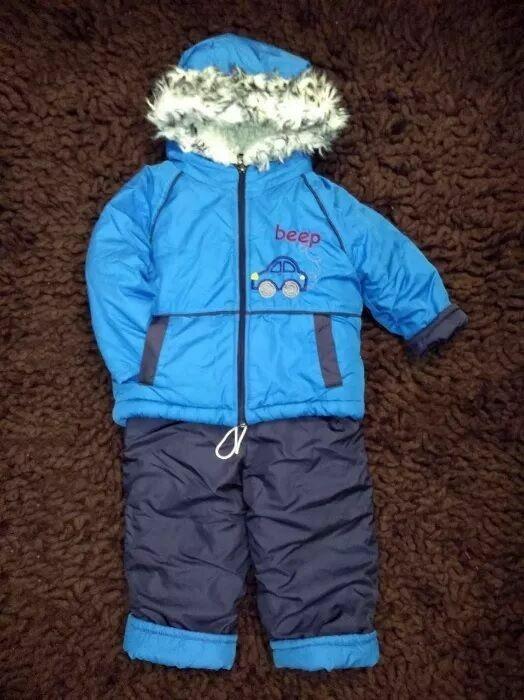 Куртка и полукомбинезон зима
