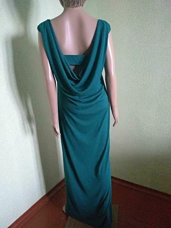 3ecbaaf3aa3 Шикарное вечернее платье макси изумрудного цвета next with lov   300 ...